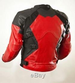 DeadPool Motorbike Leather Jacket Motorcycle Leather Jacket Biker Leather Jacket