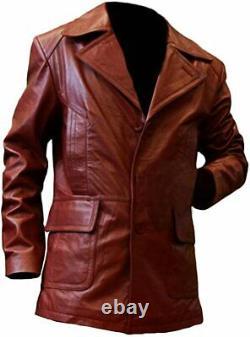 Donnie Brasco Film Johnny Depp Brown Leather Jacket