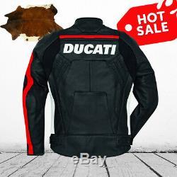 Ducati Corse C4 Jacket 2019 Motorcycle Riding Jacket CE Leather jacket
