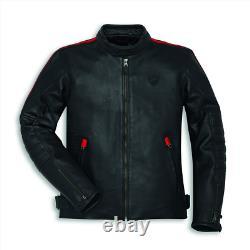 Ducati Motorbike Leather Jacket Motorcycle Bikers Racing Sports Jackets Men CE