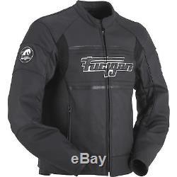 Furygan Houston Amo II Leather Motorcycle Jacket Waterproof Touring CE Armour