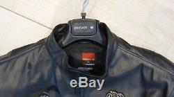Genuine Ducati Historical 09 Leather Jacket by Dainese