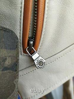Genuine Harley Davidson Leather Jacket Size M