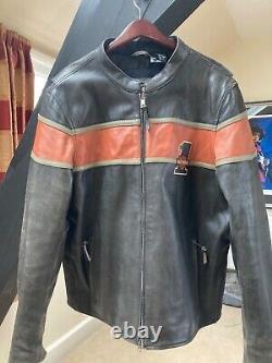 Genuine Harley Davidson Victory Lane Leather Jacket 98027-18EM/022L