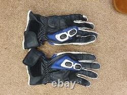 Genuine SUZUKI GSXR MOTORCYCLE LEATHER SUIT MOTORBIKE JACKET Trouser 2 PIECE m