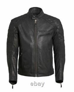 Genuine Triumph Leather Jacket Triumph Arno Quilted Jacket Summer Jacket Black