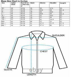 Handmade Men fringe studded two tone leather Jacket, Men Rock motorcycle Jacket