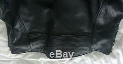 Harley Davidson Biker Jacket Black Leather XL never been worn