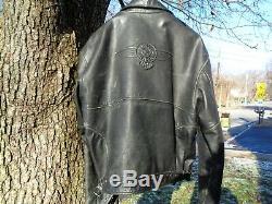 Harley Davidson Leather Jacket Heritage Fat Boy Xx-large