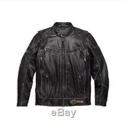 Harley Davidson Men's Tifton Leather Jacket 97138-17vm 2xl