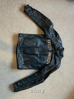 Harley Davidson Reflective Leather Jacket
