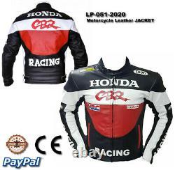 Honda motorcycle leather racing jacket LD-051-2020 (US 38-48)