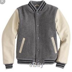 J Crew Golden Bear Varsity Jacket Ladies Medium Boys XL