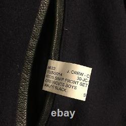 J. Crew nwot Crewcuts Golden Bear Sports varsity jacket coat navy XL 14-16 $390