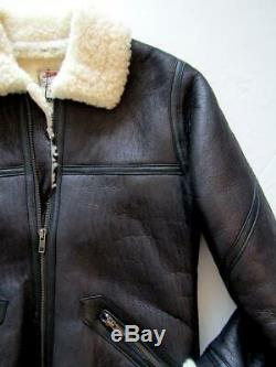 Jean Paul Gaultier Boys Shearling Jacket size 12a RRP £825 Lambskin bomber kids