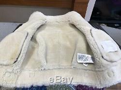 Junior BURBERRY leather Flying Jacket, Sheepskin Size 8 Years
