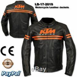 KTM MOTOGP Motorcycle /KTM Motorbike Motorcycle Rider Leather Jacket LD-17-2019