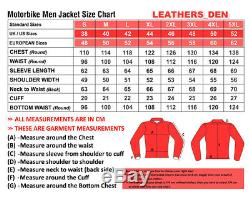 KTM Motorbike Motorcycle Rider Leather Jacket LD-17-2019 (US 38-48)
