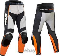 KTM Motorbike Motorcycle Rider Leather Pant LP-01-2019 (US 38-48)
