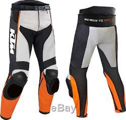 KTM Motorbike Motorcycle Rider Leather Pant SL-00-2019 (US 38-48)