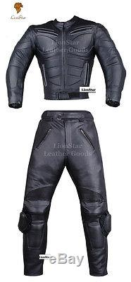 Lionstar Bravo Motorbike Motorcycle Real Leather Racing Jacket with CE Armours