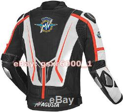 MV AGUSTA Motorbike Leather Jacket Motogp Motorcycle Racing Jacket REAL LEATHER