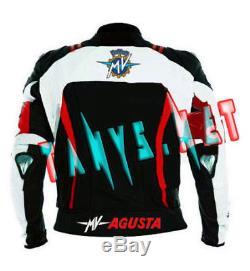 MV Agusta Corse Brand New Motorcycle Motorbike Racing Leather Jacket