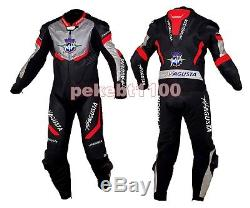 MV Agusta Motorcycle Leather Suit Mens Motogp Motorbike Leather Jacket Trouser