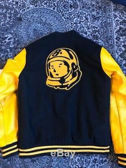 Mens Billionaire boys club varsity baseball jacket 100% Authentic Large