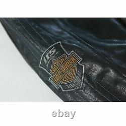 Mens Davidson 115th Anniversary Limited Edition Leather Jacket