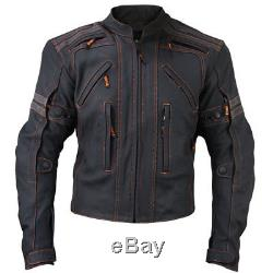 Mens Motorbike Leather Jacket Men Racing Biker MOTOGP Motorcycle Leather Jacket