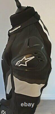 Mens Motorbike Leather Jacket UK XL EU54