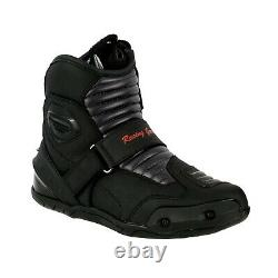 Mens Motorcycle Motorbike Suit Waterproof Racing Set Jacket Trouser Boots Gloves
