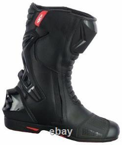Mens Waterproof Cordura Motorcycle Textile Jacket Motorbike Leather Shoes Boots