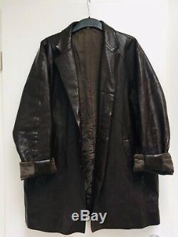 Miu Miu Original Vintage Leder Jacke Leather Jacket Boyfriend Style