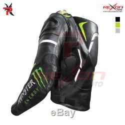 Monster Energy Motorbike Leather Jacket Motogp Racing Jacket