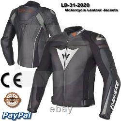 Motogp Motorbike Motorcycle Racing Leather jacket LD-31-2020 (US 38-48)