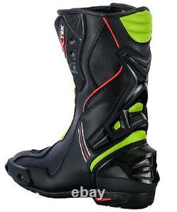Motorbike Cordura Jacket Waterproof Armored Motorcycle Leather Boot Racing Shoes