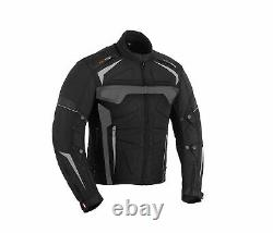 Motorbike Motorcycle Suit Waterproof Cordura Armour Suits Leather Gloves Boots