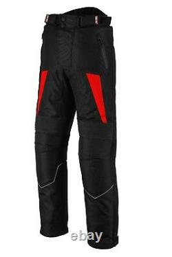 Motorbike Riding Clothing Cordura Suit Motorcycle Leather Boot Waterproof Armors