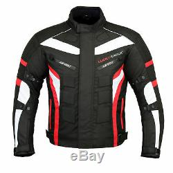 Motorbike Suit Motorcycle Waterproof Jacket Pant Trouser Leather Shoes Race Boot