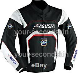 Mv Agusta Custom motorbike motorcycle biker racing leather jacket all sizes