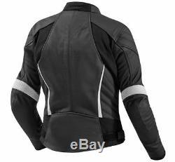 NEW LADIES/WOMEN Motorbike/Motorcycle Racing Jacket Cowhide Leather Jacket Racer