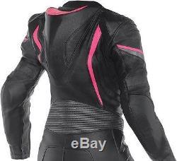 NEW-WOMEN/LADIES-Motorcycle/Motorbike Cowhide Leather Racing Jacket-CE ARMORED