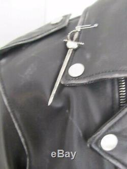 New Amiri Lost Boys Printed Leather Jacket RRP £4125