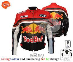 New Bull style motorbike leather jacket racing leather jacket any size and color
