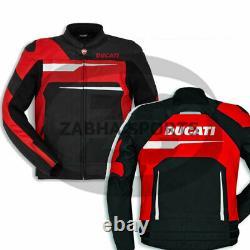 New Ducati Corse C1 Jacket Motorcycle Riding Jacket CE Leather jacket 2020