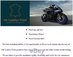Original Cowhide Leather Certified Armours Suzuki Blue Motorbike Jacket