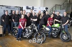 REDUCED! Harley Davidson Men's Tifton Leather Jacket 97138-17VM, RRP £525 Large