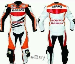 Repsol Style Leather Motorcycle Motorbike Racing Biker Suit Moto Gp Suits